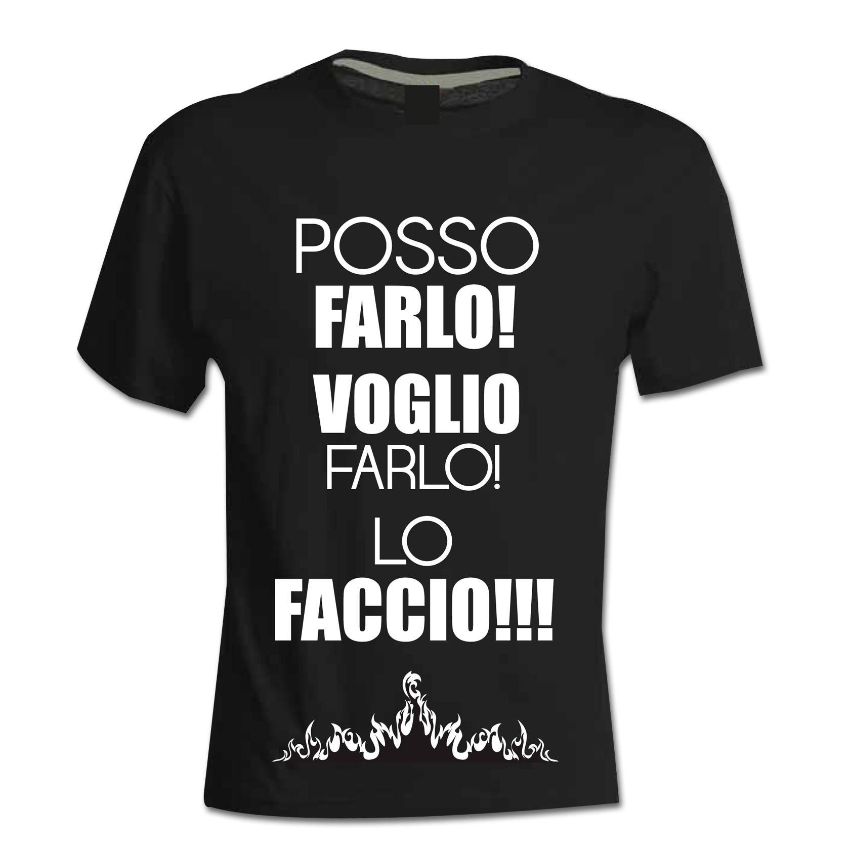 T-shirt-Posso-farlo-voglio-farlo-lo-faccio-Roberto-Re